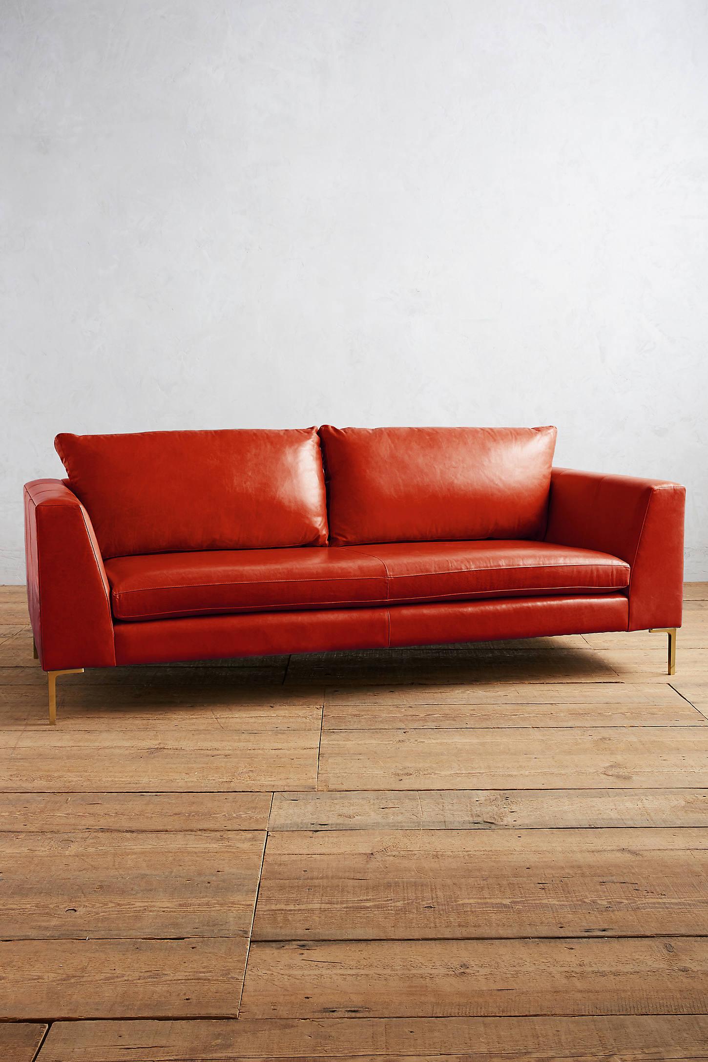 Premium Leather Edlyn Sofa
