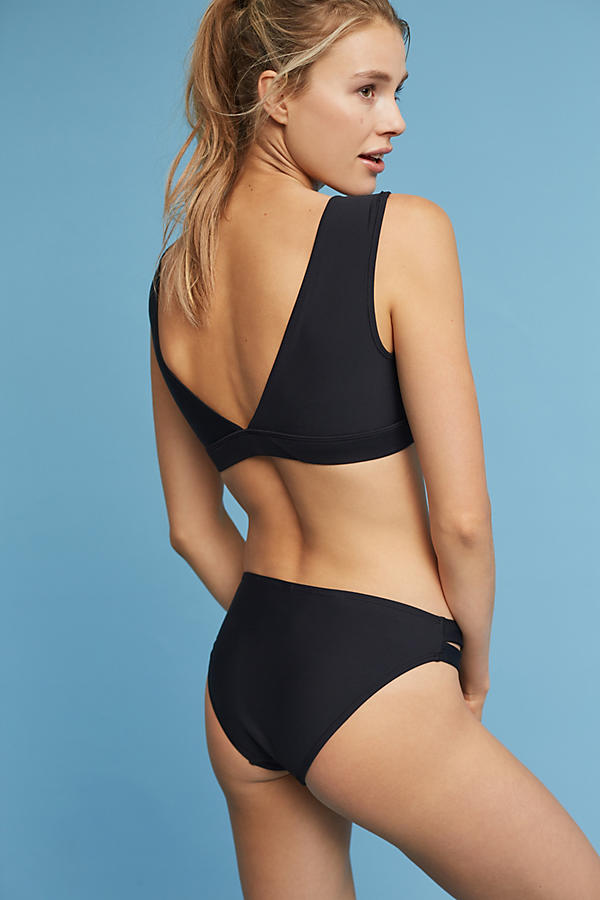 Slide View: 3: Deep V-Neck Bikini Top