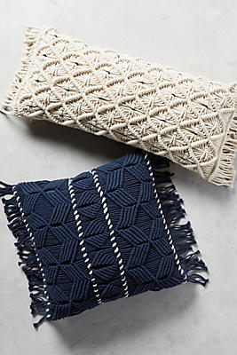 Slide View: 1: Fringed Diendra Pillow