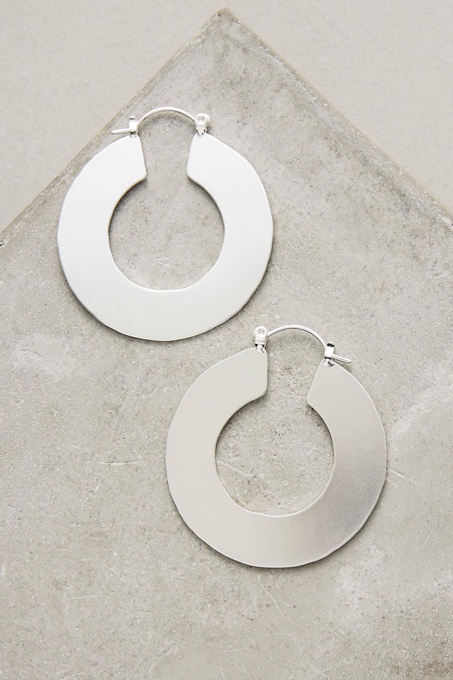 Seattle Hoop Earrings