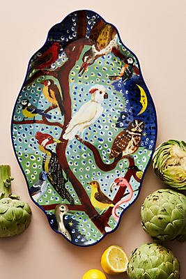 Slide View: 1: Oiseau Platter