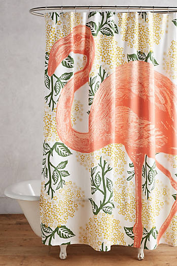 shop unique boho shower curtains anthropologie. Black Bedroom Furniture Sets. Home Design Ideas