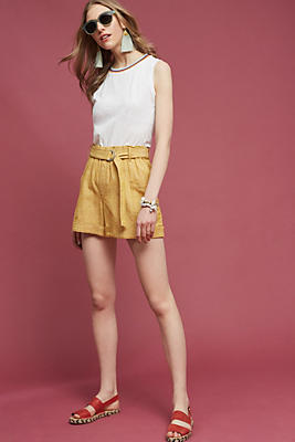 Slide View: 2: Marnie Belted Shorts