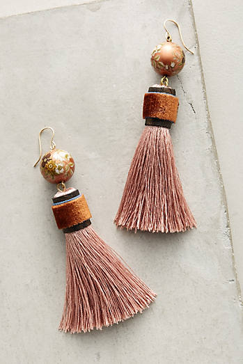 Silken Tassel Earrings