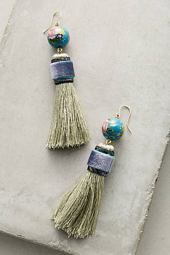 Tassel-Drop Earrings