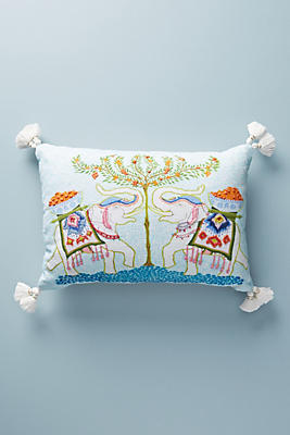 Slide View: 1: Palace Portrait Pillow