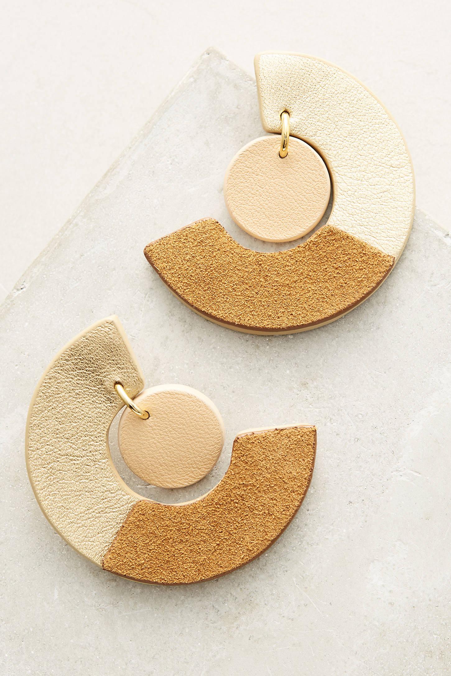 Two-Thirds Drop Earrings