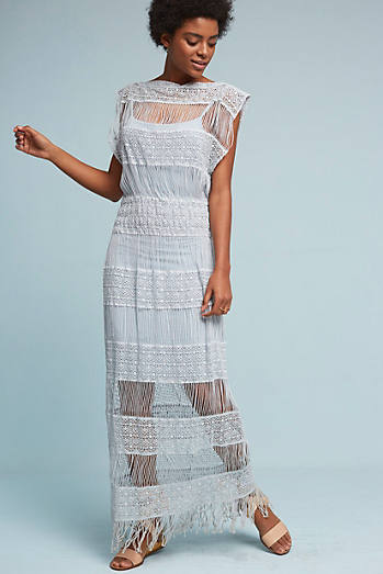 Amelia Crocheted Maxi Dress