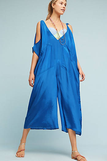 Portofino Open-Shoulder Jumpsuit