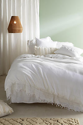 Slide View: 1: Evangeline Crocheted Duvet