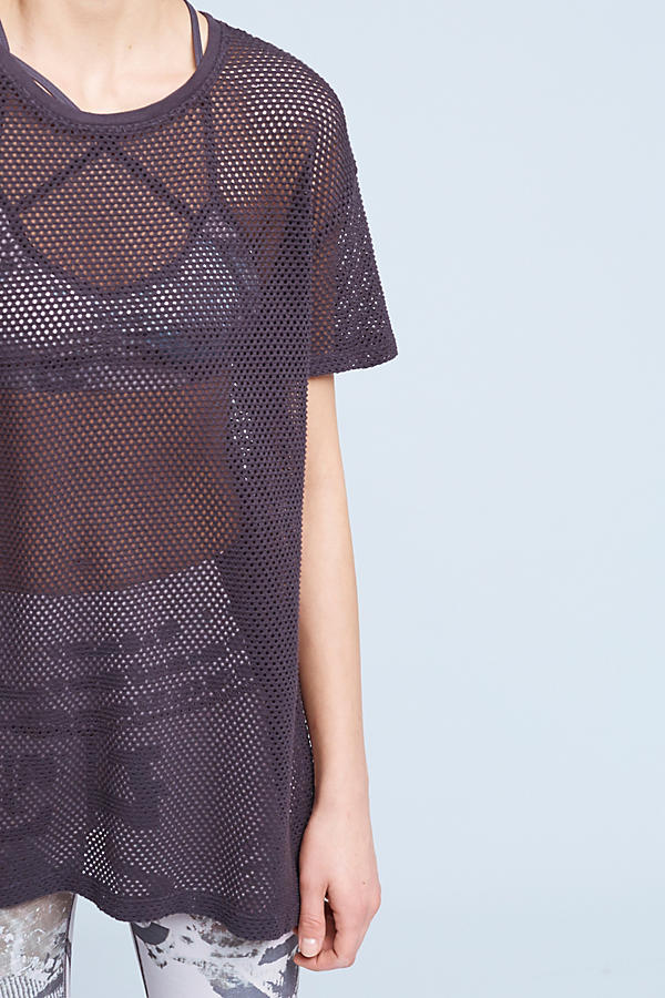 Slide View: 2: Boone Mesh Tee