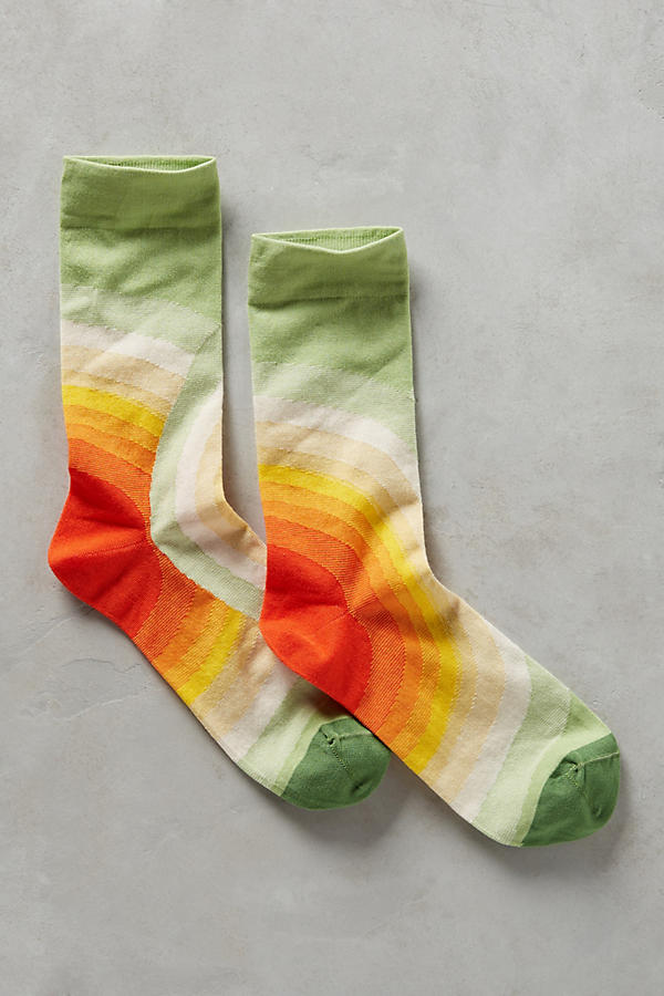 Slide View: 1: Sunburst Socks