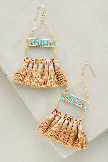 Luce Tassel Drop Earrings