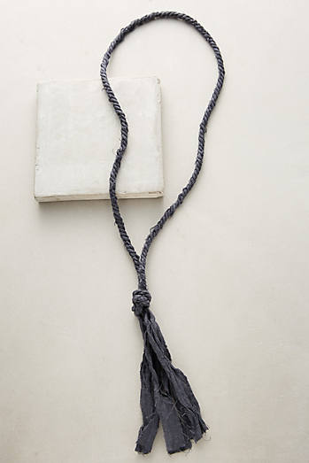 Knotted Linen Necklace