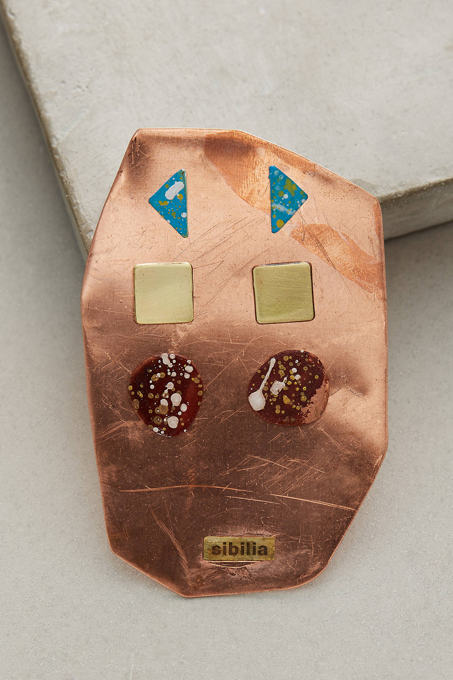 Painted Metals Earring Set