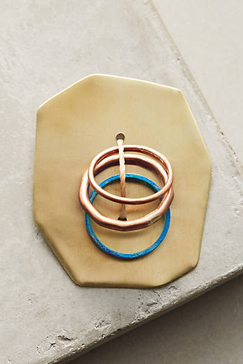 Painted Metals Stacking Ring Set