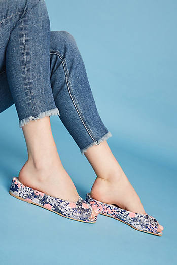Jeffrey Campbell Del-Mar Jacquard Micro Wedges