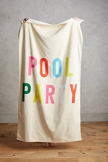 Ban.do Pool Party Bath Towel
