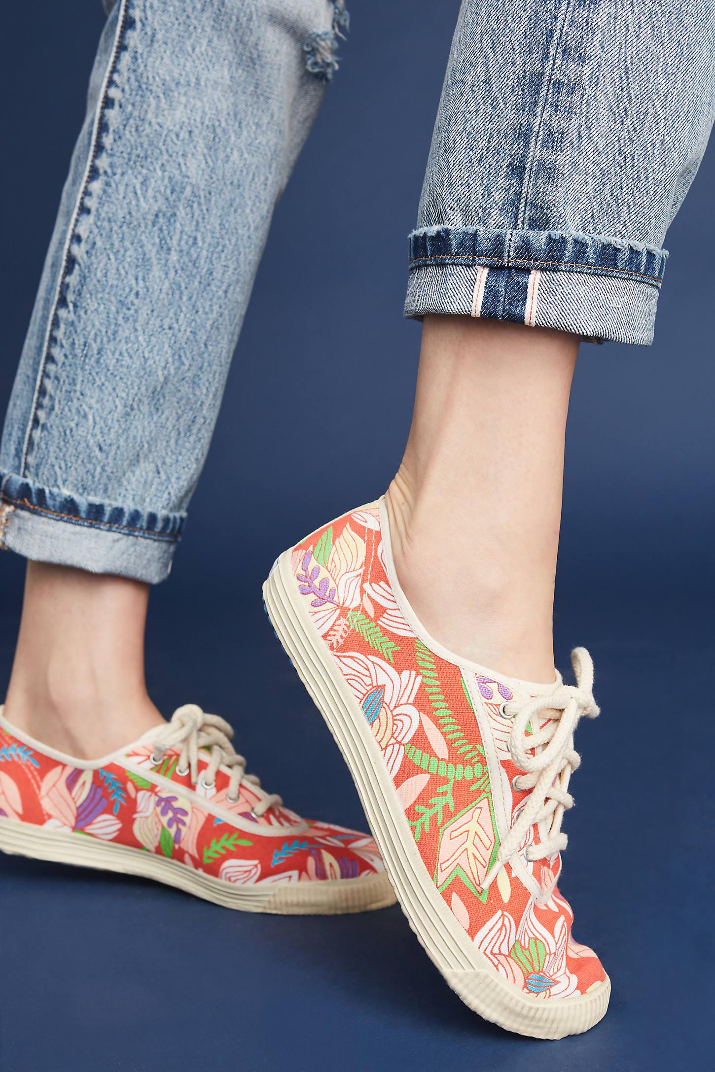 Startas Floral Print Sneakers