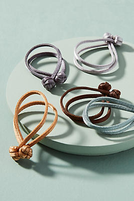 Anthropologie Knotted Hair Tie Set OFvuL