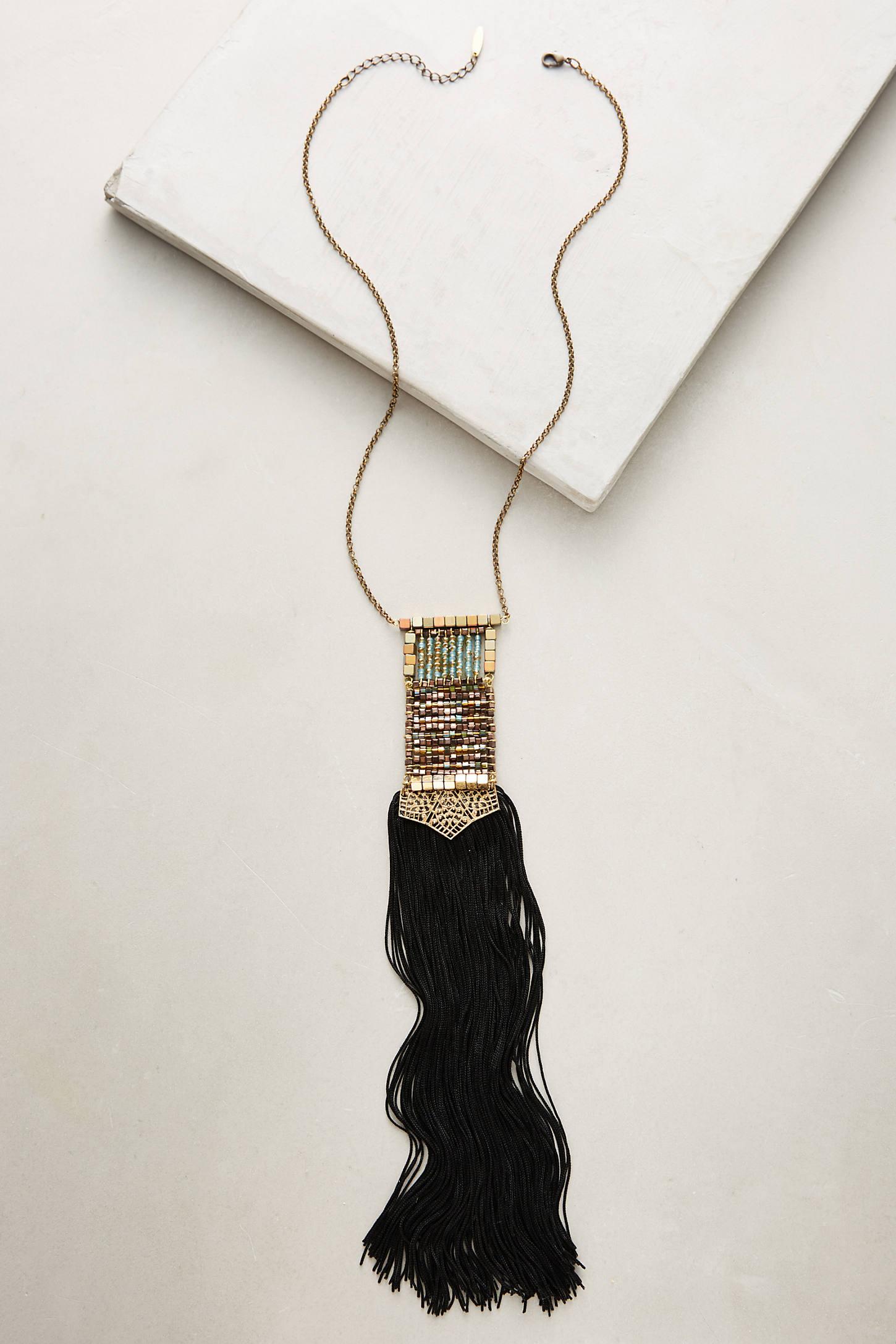 Odeisa Tassel Necklace