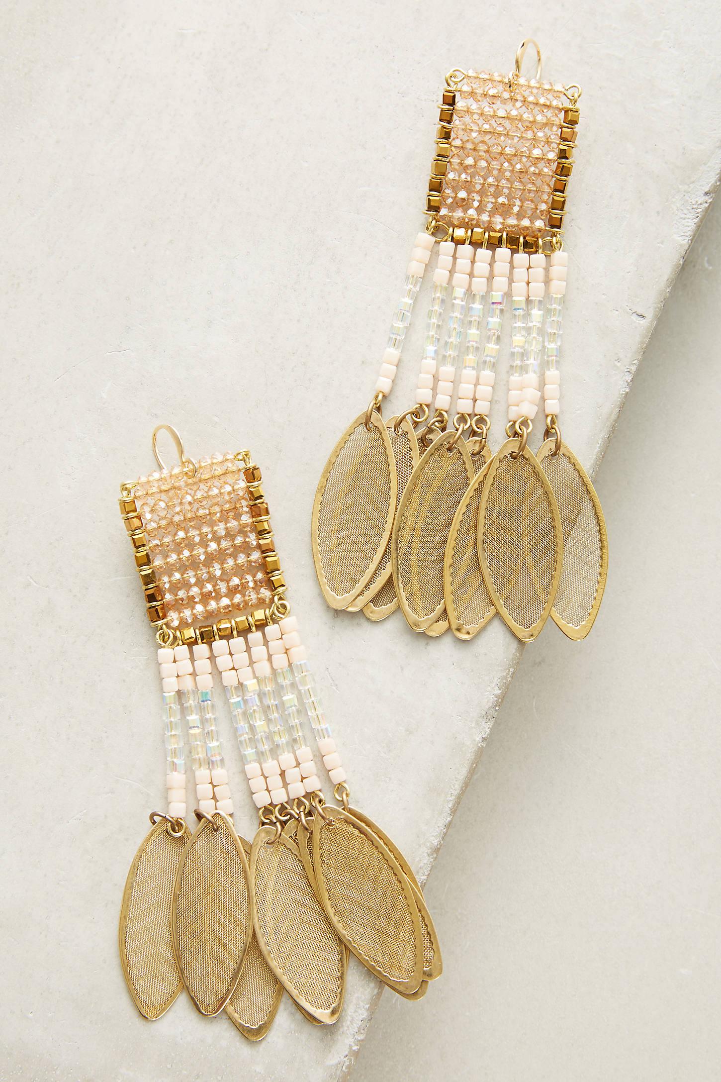 Beaded Catalina Earrings