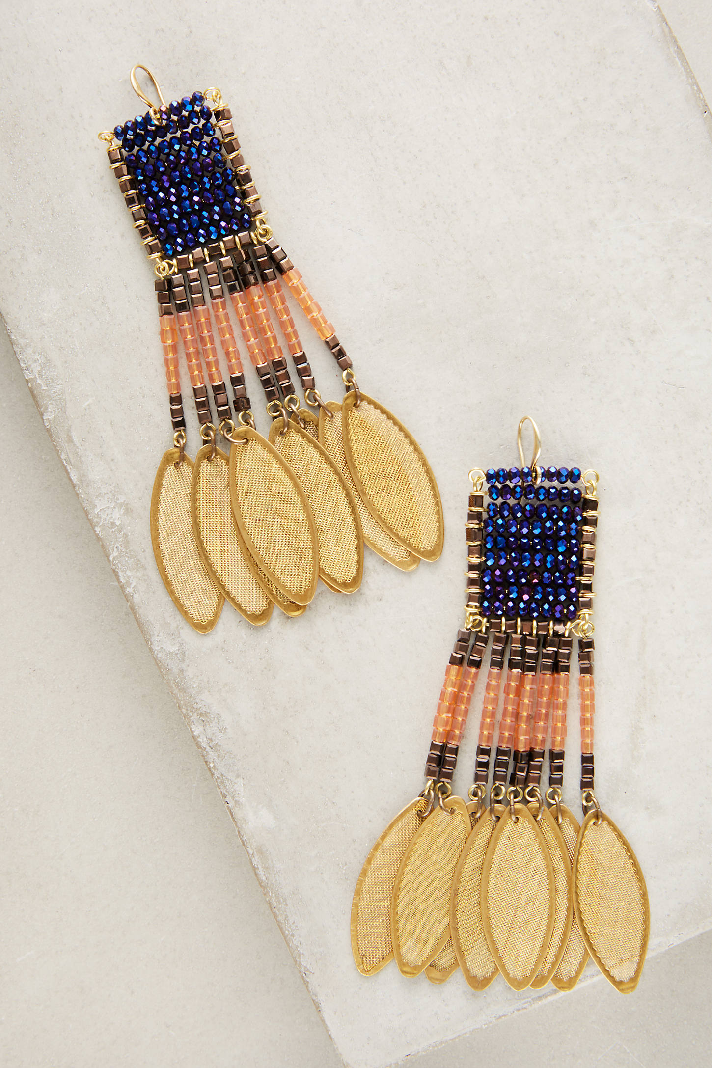 Beaded Catalina Earrings