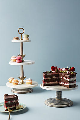 Slide View: 1: Be Our Guest Cake Stand