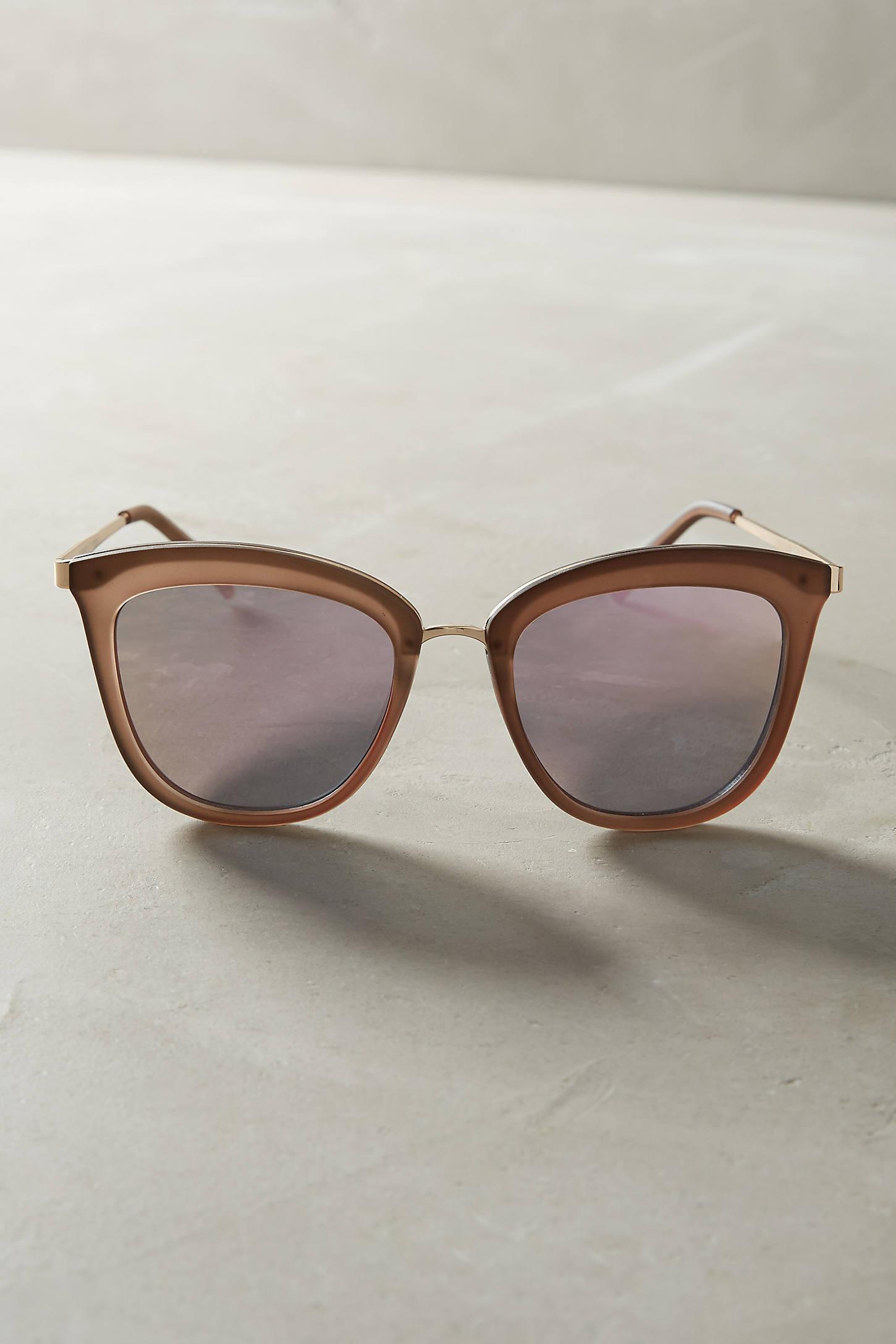 Le Specs Caliente Mirrored Sunglasses