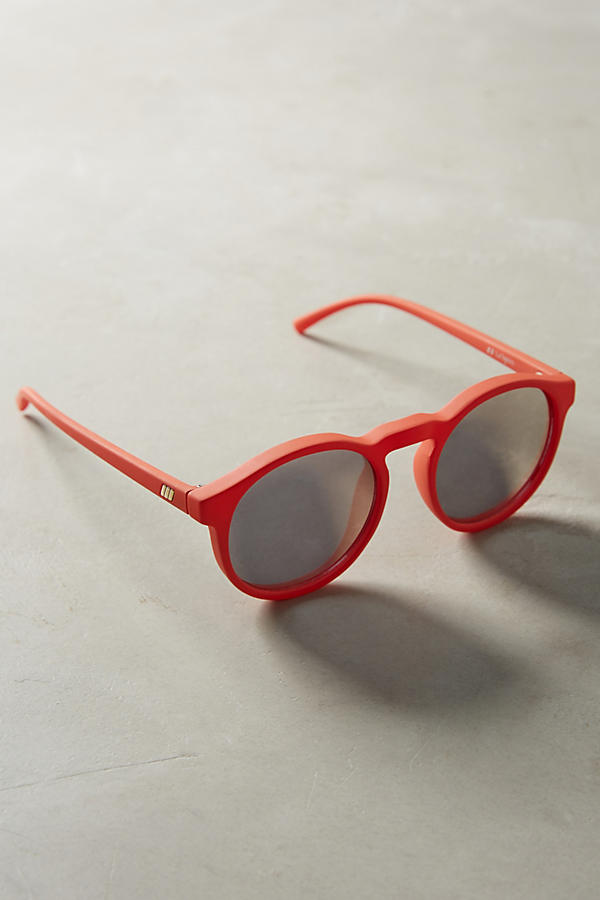 Slide View: 2: Le Specs Cubanos Mirrored Sunglasses
