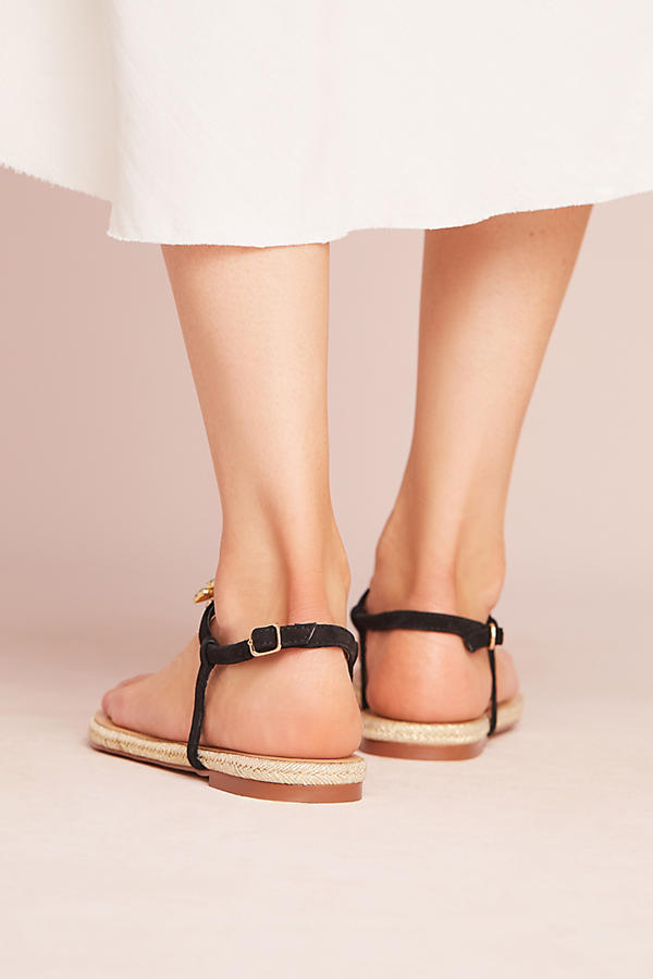 Slide View: 4: Bibi Lou Pinapple Palm Sandals