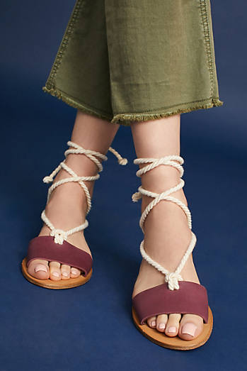 Howsty Marina T-Strap Sandals