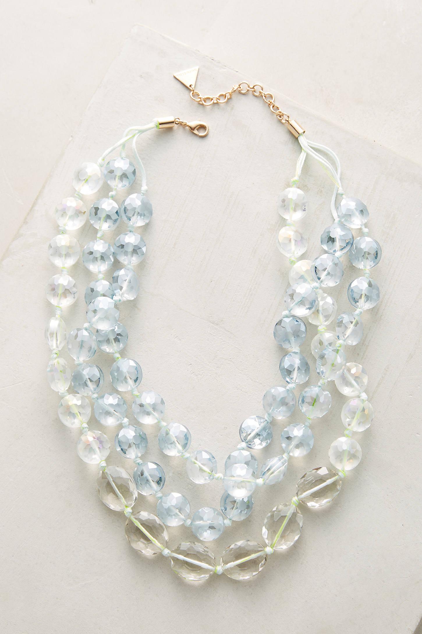 Orbital Layered Necklace