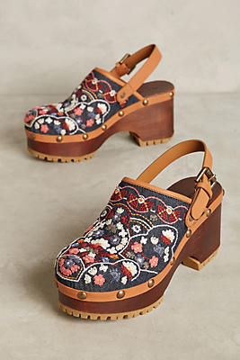 See By Chloe Embroidered Floral Wedges Anthropologie