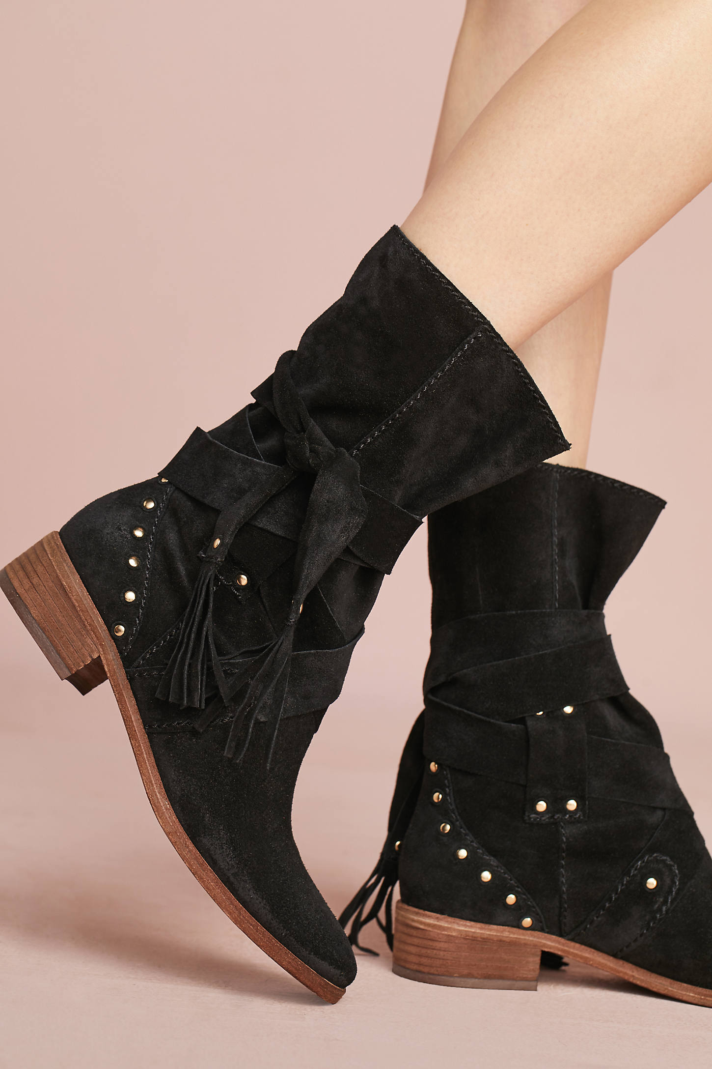 See By Chloe Studded Crosta Boots