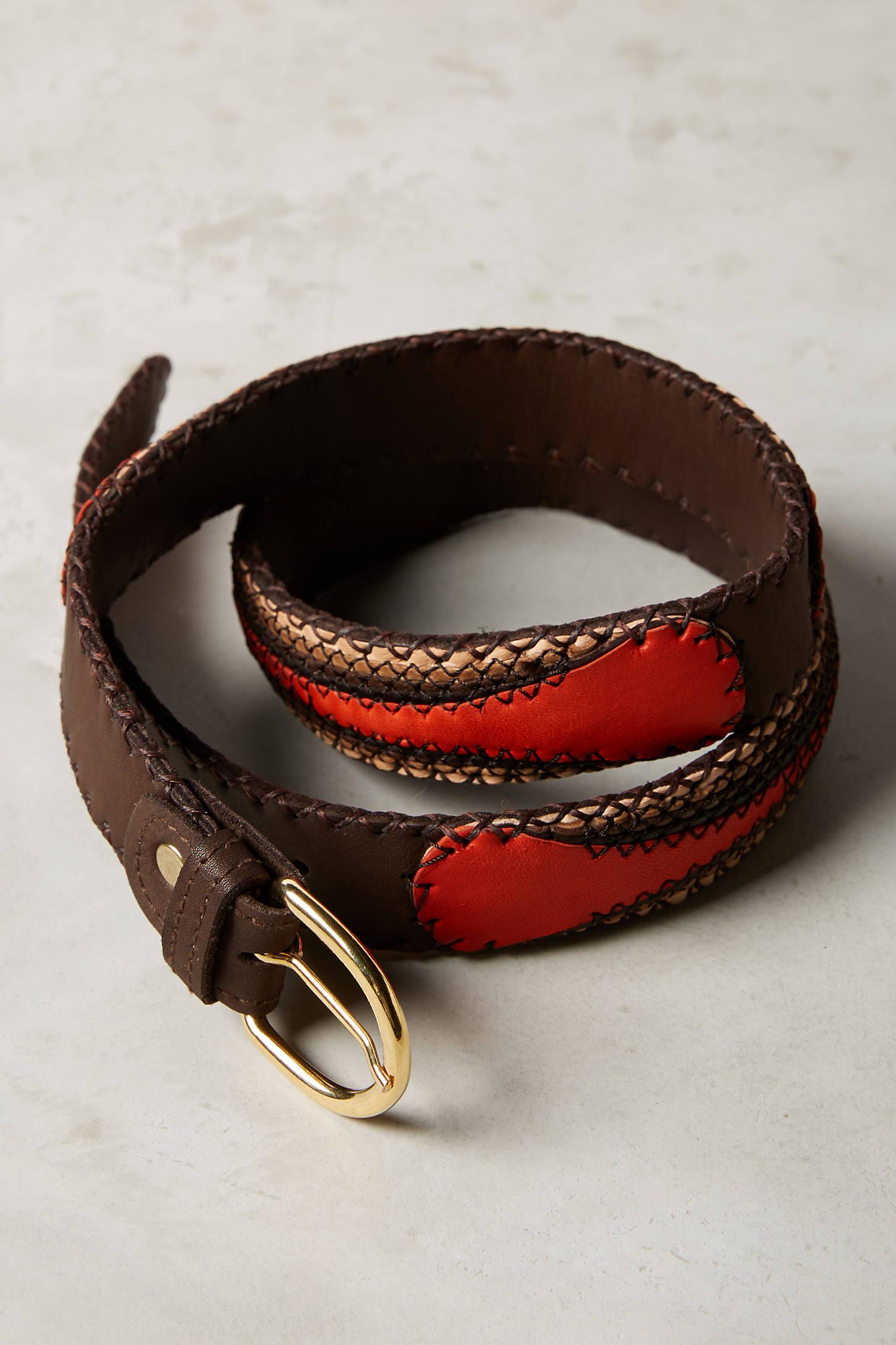 Deco Leather Belt
