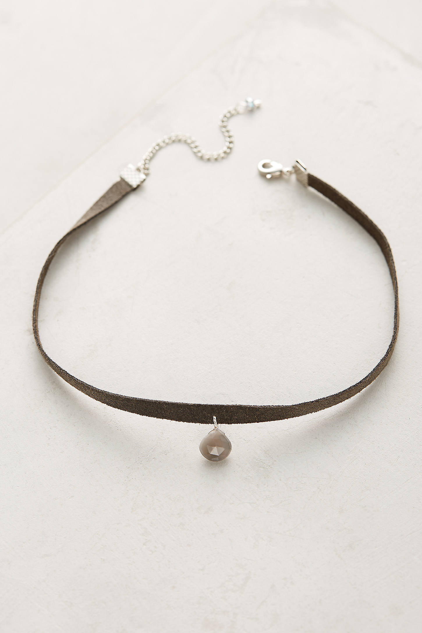 Kimra Leather Choker Necklace