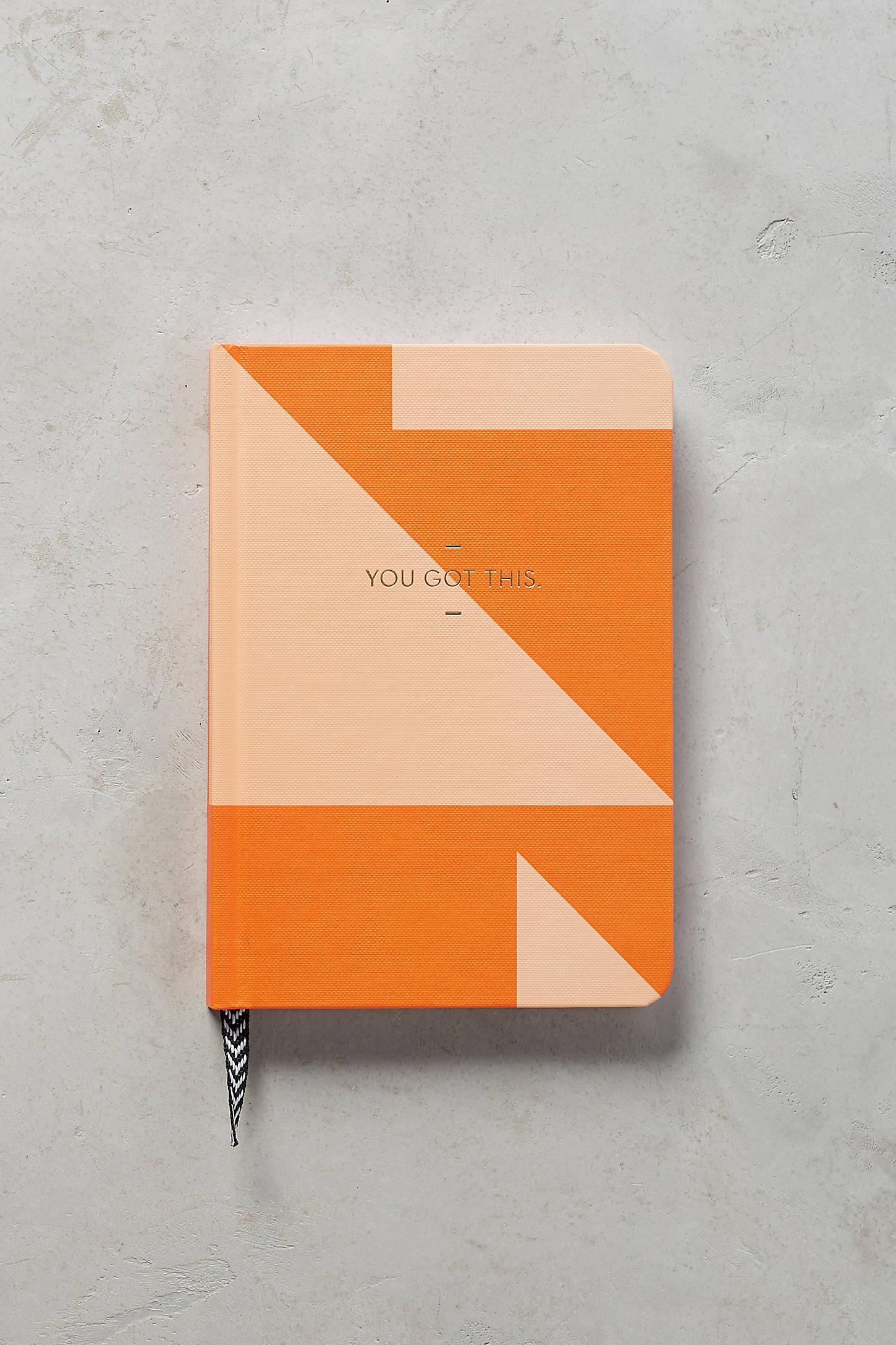 Colorblocked Pocket Journal