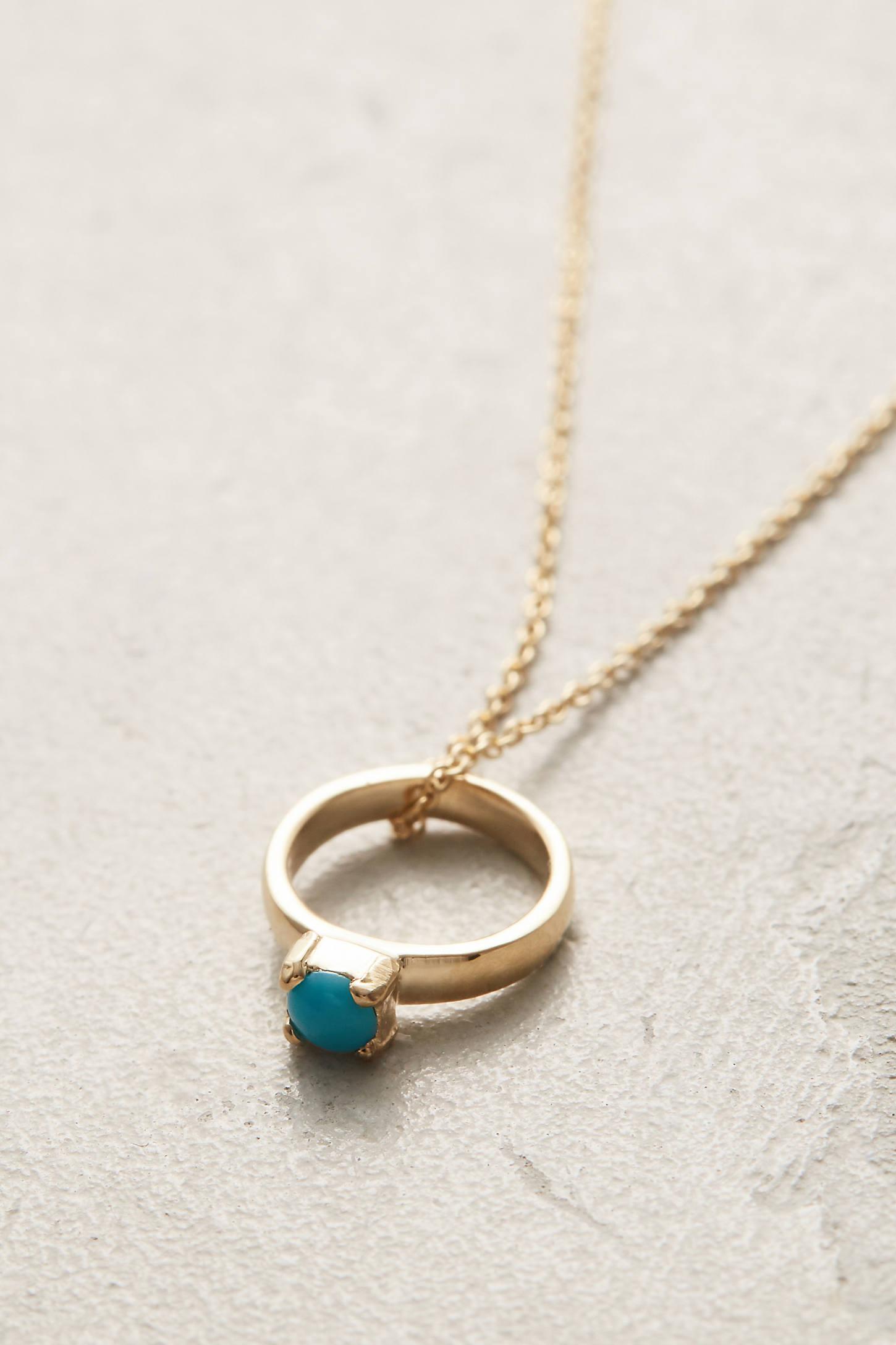 Birthstone Ring Choker