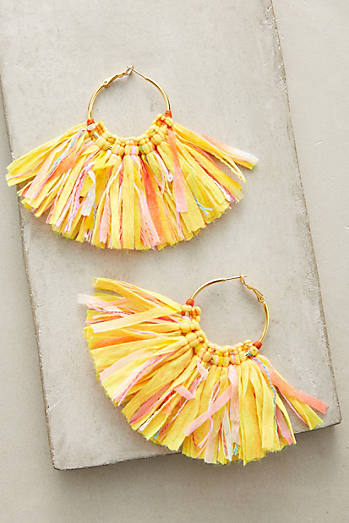 Mary Citron Hoop Earrings