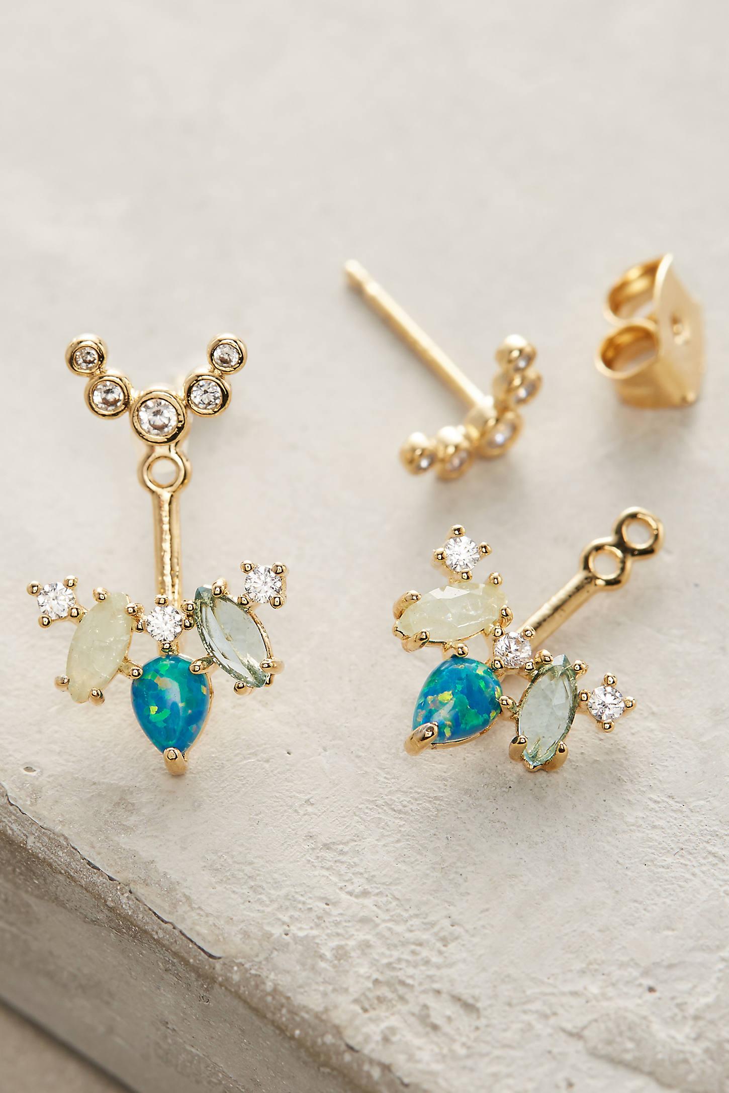 Isle Front-Back Post Earrings