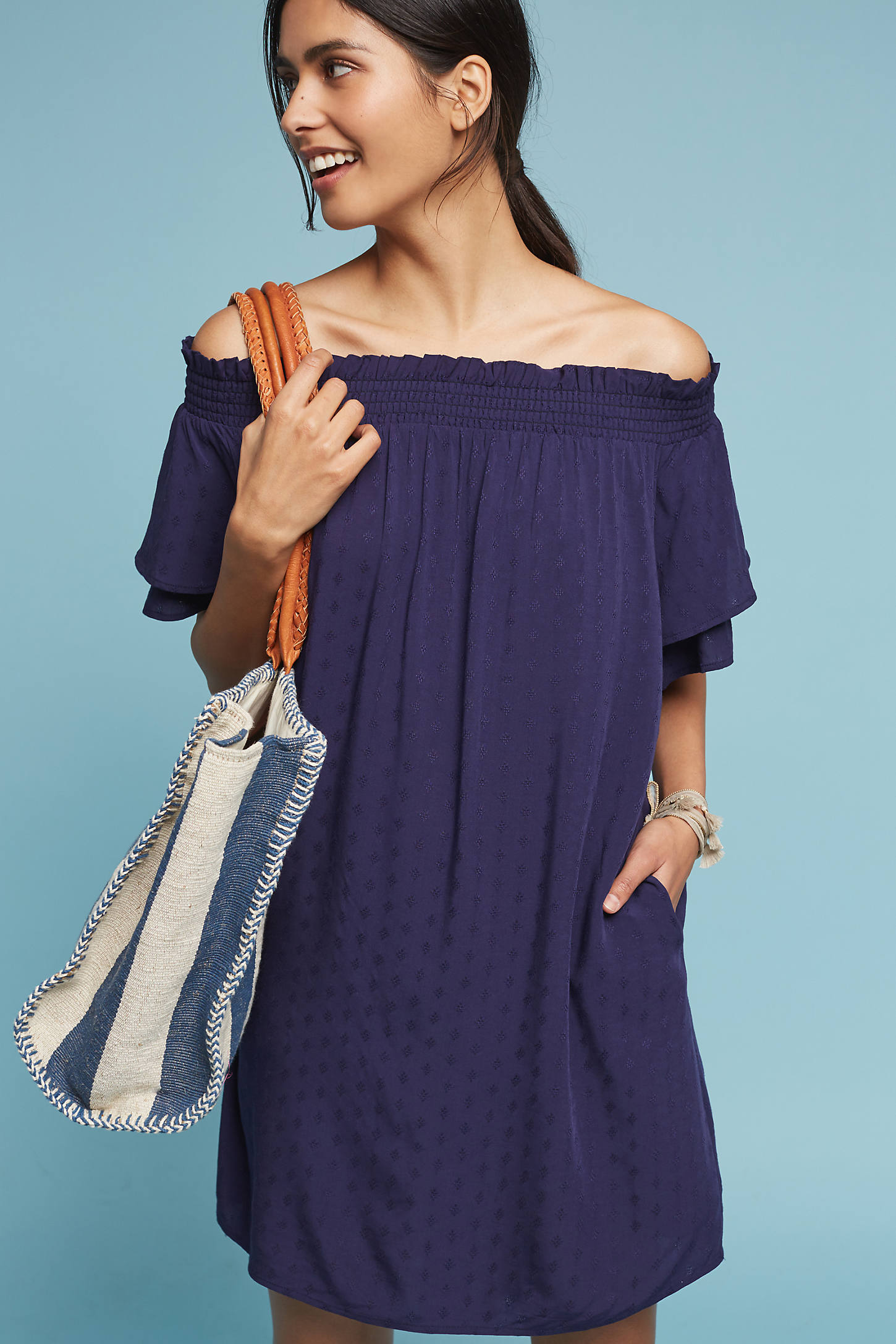 Palisades Off-The-Shoulder Cover-Up