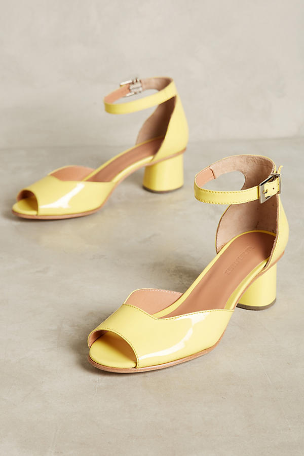 Slide View: 1: Rachel Comey Bodie Block Heel Sandals