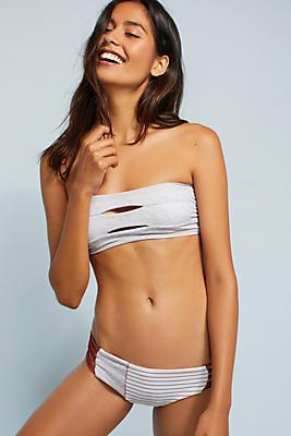 Slide View: 2: Boys + Arrows Ava Bandeau Bikini Top
