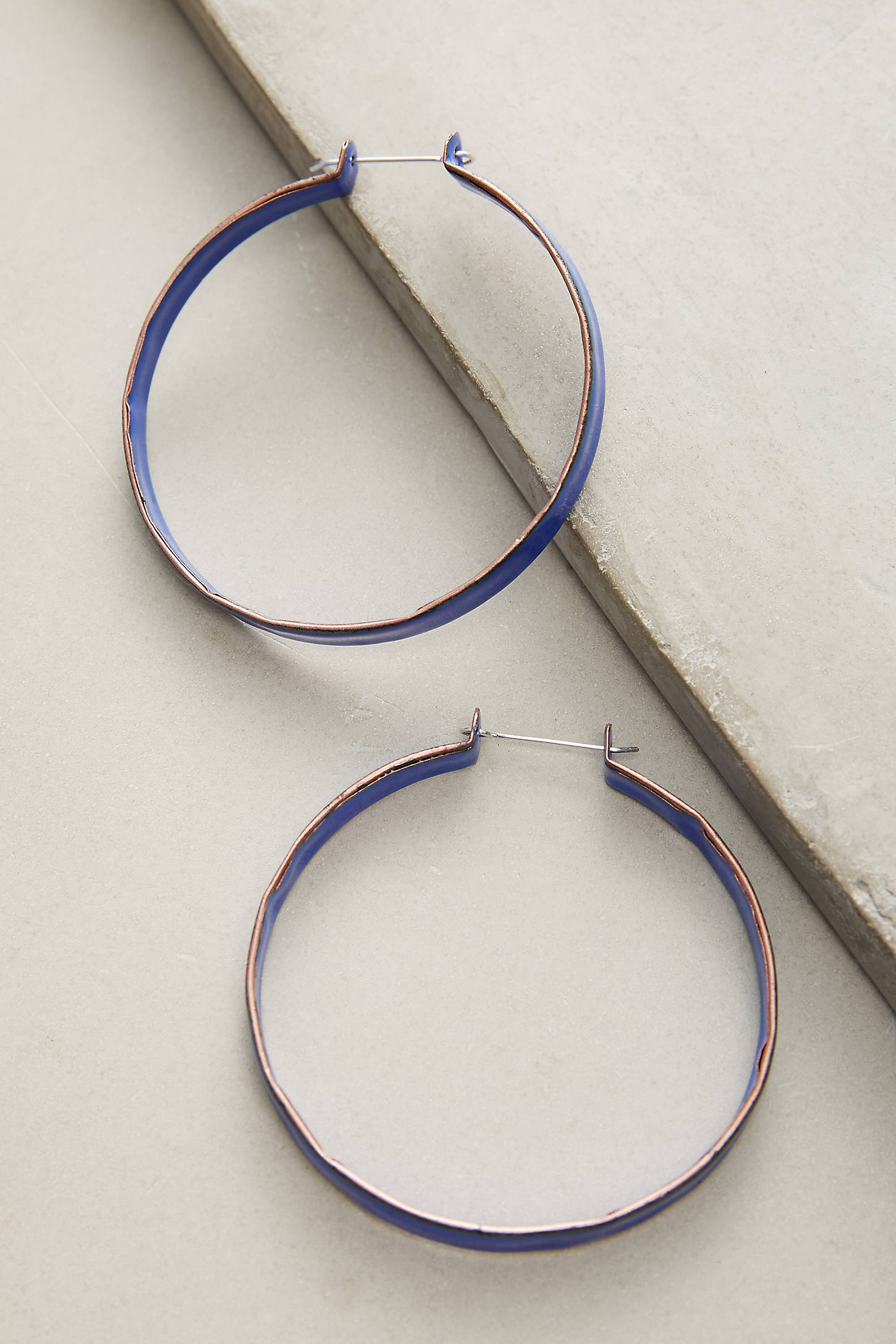 Painted Vivid Hoop Earrings