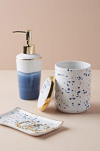 bathroom accessories. Mimira Bath Collection Bathroom Accessories  Trinket Dishes Anthropologie