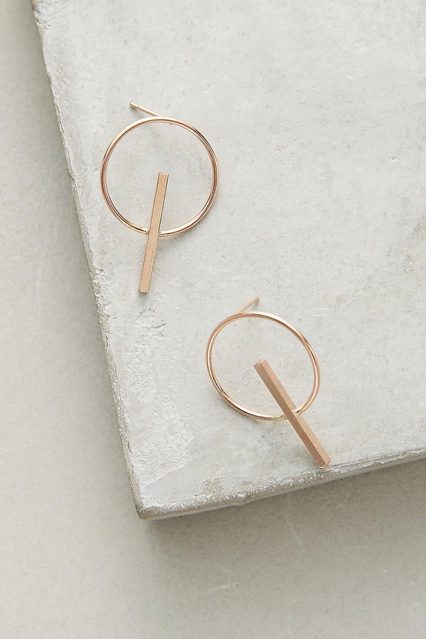 Sundial Post Earrings