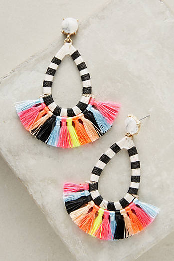 Summer Tassel Drop Earrings