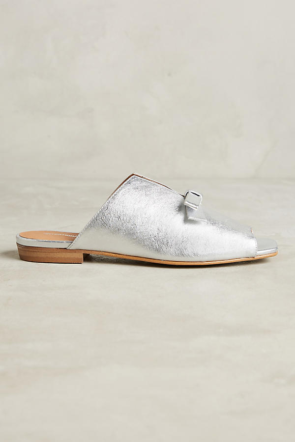 Slide View: 2: Sidney Metallic Flats