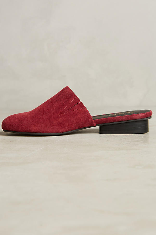 Slide View: 3: Intentionally Blank Suede Slides